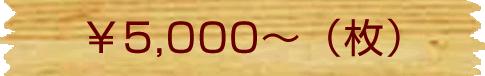 \5,500~(枚)