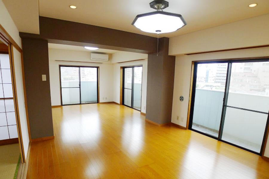 画像:施工後の部屋